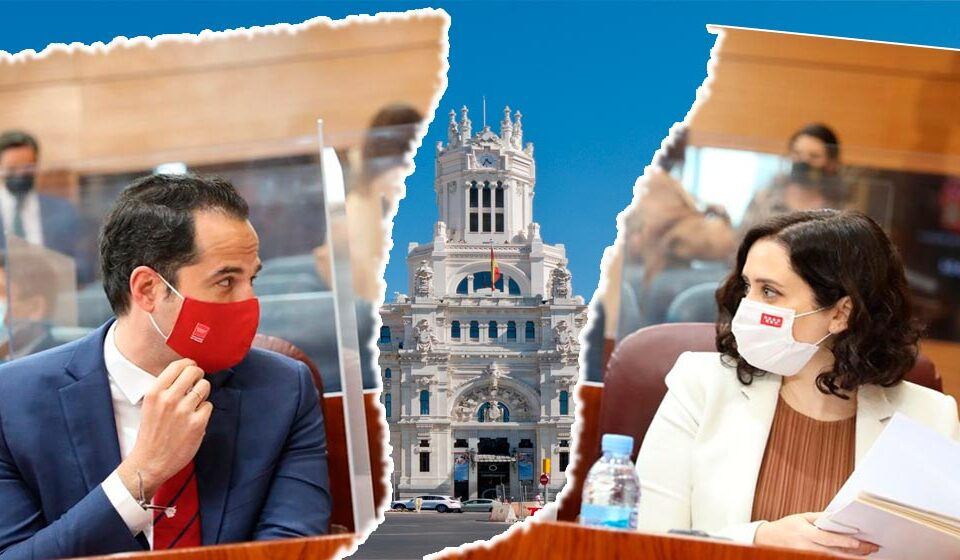 moción de censura madrid