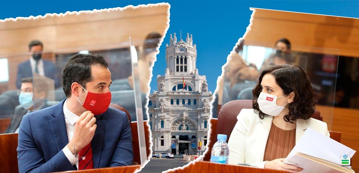 moción de censura madrid