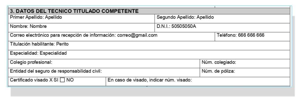 Solicitud para el certificado energético en Murcia.